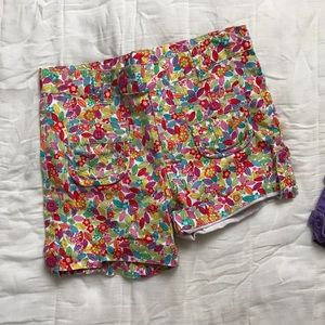 Children's place brand new floral shorts
